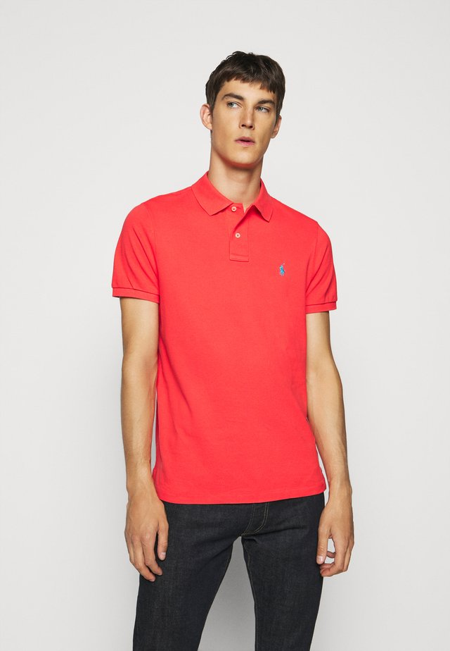 SHORT SLEEVE - Polotričko - racing red