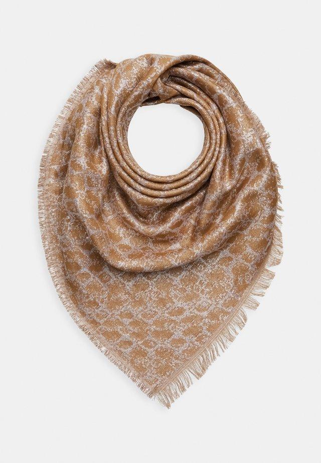SILLOA COLUR SCARF - Foulard - brown
