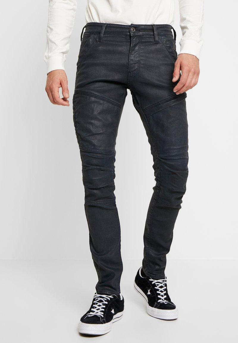 G-Star - RACKAM 3D SKINNY - Jeans Skinny Fit - loomer black