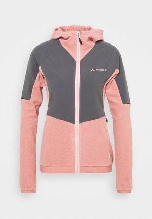 WOMENS YARAS HOODED JACKET - Fleece jacket - dusty rose
