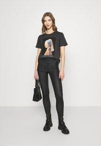 Even&Odd - T-shirt imprimé - anthracite - 1