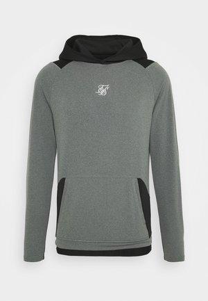 ENDURANCE OVERHEAD HOODIE - Maglietta a manica lunga - grey/black