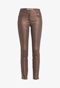 Marc Aurel - Slim fit jeans - shiny cognac - 4