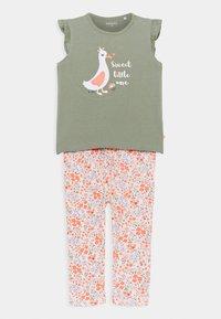 Staccato - SET - T-shirt print - khaki/multicolor - 0