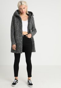 ONLY - ONLSEDONA COAT - Short coat - dark grey melange - 2
