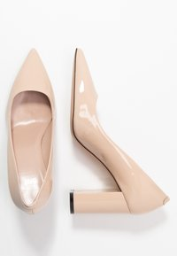 HUGO - EXCLUSIVE INES CHUNKY  - High heels - nude