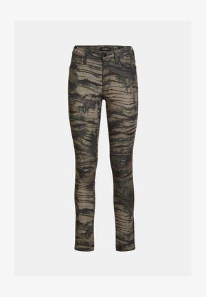 Trousers - Mehrfarbig, Grün