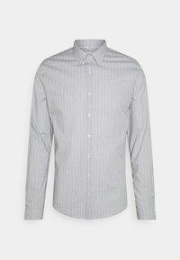 Calvin Klein Tailored - PRINTED SLIM SHIRT - Formal shirt - black - 0