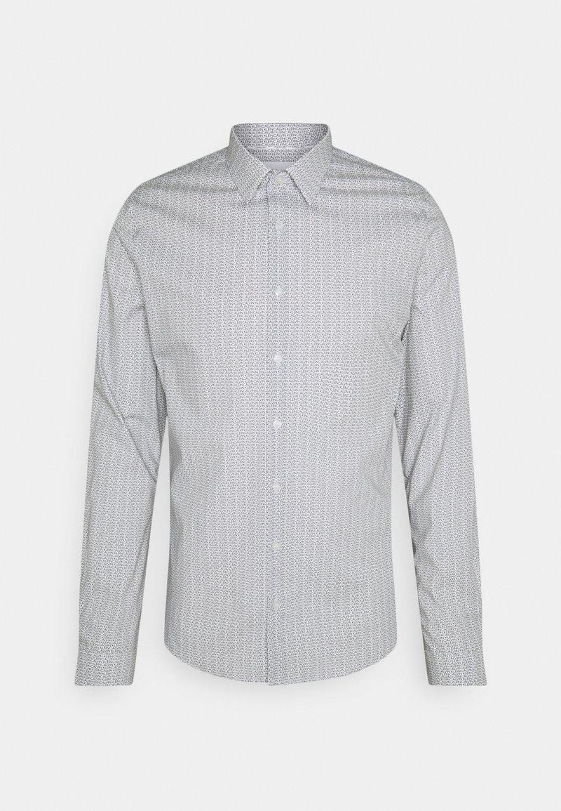Calvin Klein Tailored - PRINTED SLIM SHIRT - Formal shirt - black