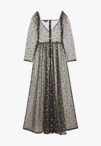 Missguided - FESTIVAL EXCLUSIVE STAR PRINT DRESS - Maxikjole - black - 1