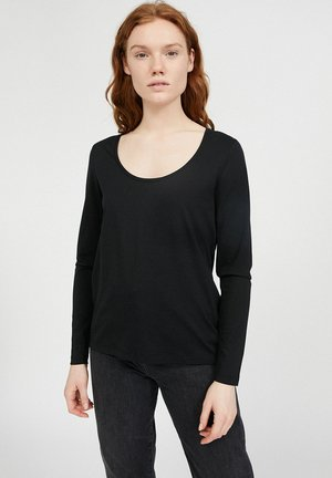 JAMAAL - Long sleeved top - black