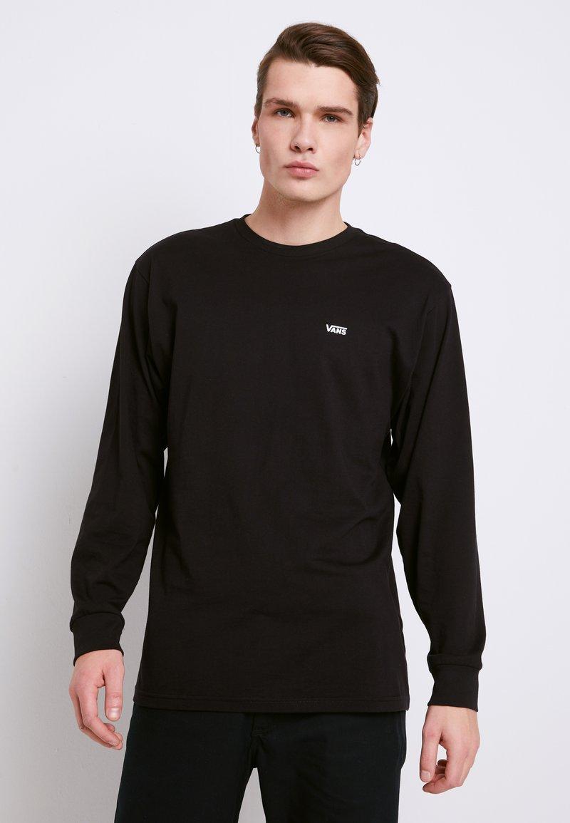 Vans - LEFT CHEST HIT - Long sleeved top - black/white