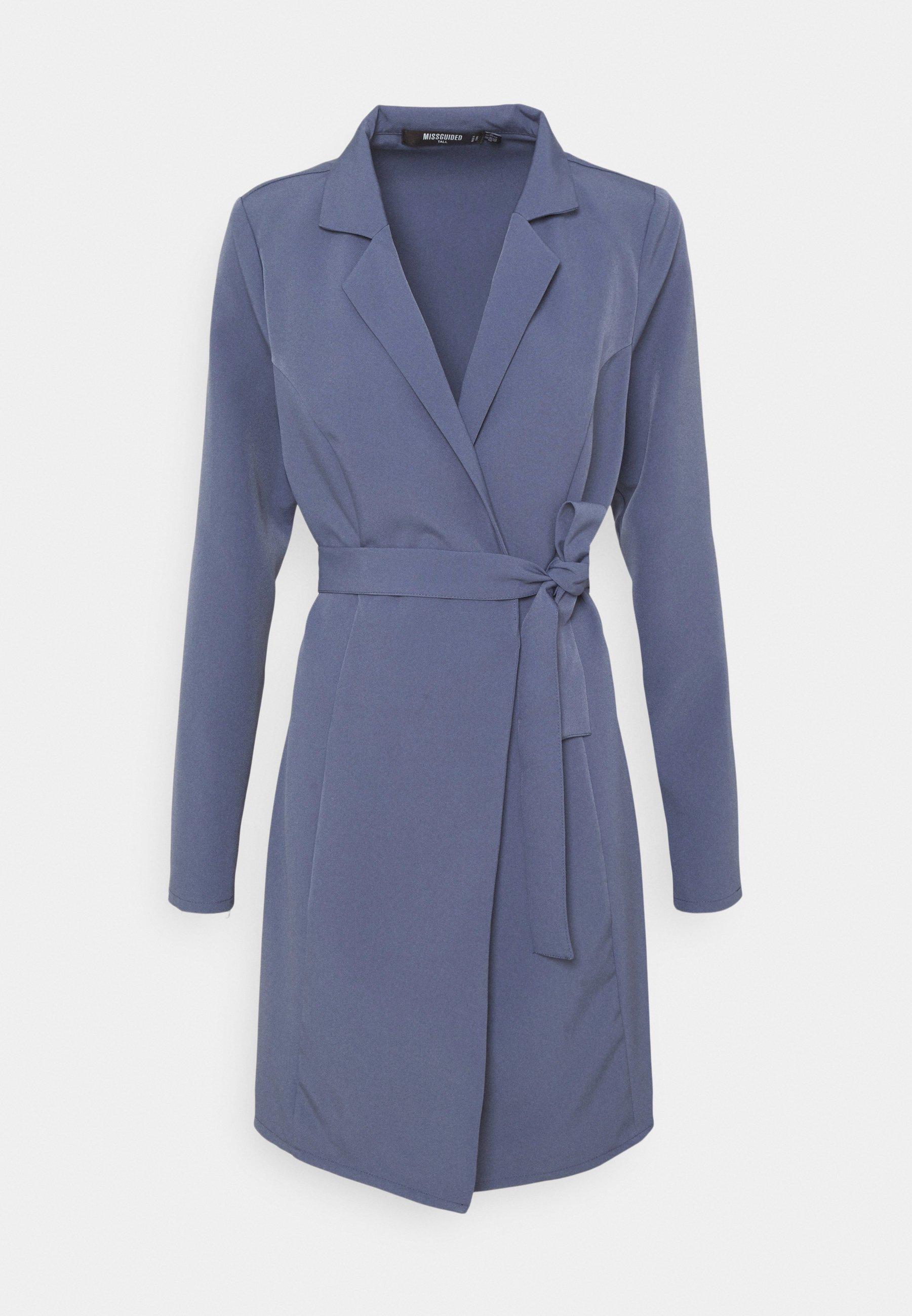 Damen BASIC WRAP BLAZER DRESS - Freizeitkleid