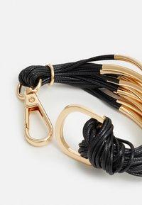sweet deluxe - BRACELETT - Bracelet - black/gold-coloured - 1