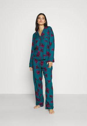 LUXE - Pijama - teal/pink