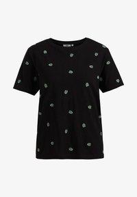 WE Fashion - MET DESSIN - Print T-shirt - black - 5