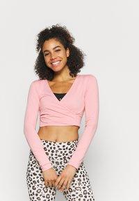 Even&Odd active - Maglietta a manica lunga - pink - 0