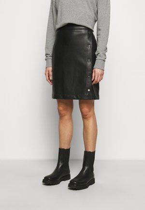 RULENA - Pencil skirt - black