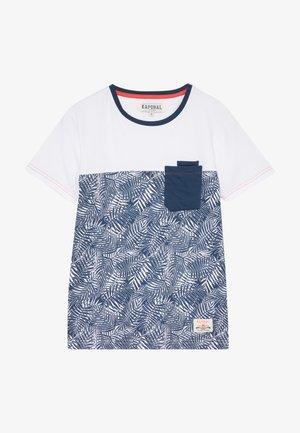 T-shirt print - blueus