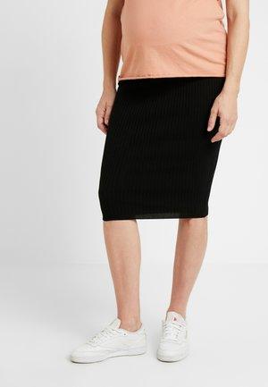 JEN SKIRT - Pouzdrová sukně - black