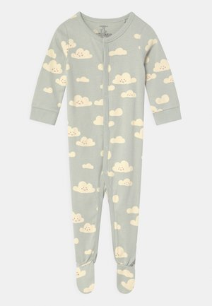 CLOUDS UNISEX - Sleep suit - light aqua