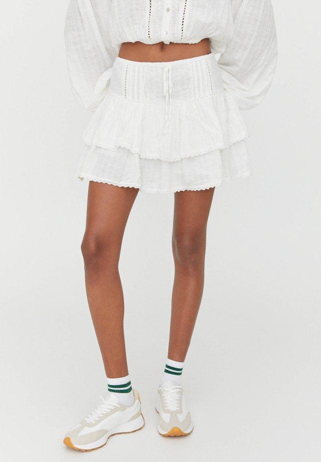 A-linjekjol - white