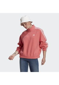 adidas Originals - FLEECE HZ - Fleece jumper - hazy rose - 0