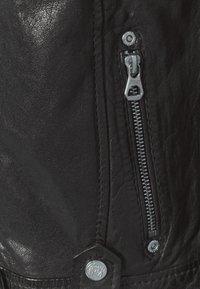 Gipsy - Kožená bunda - black - 6