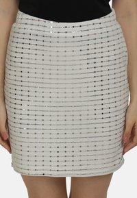 myMo at night - Mini skirt - weiss - 3