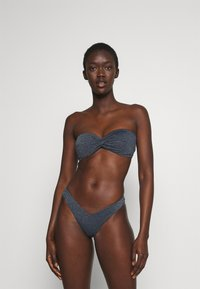 Seafolly - STARDUST TWIST BANDEAU - Bikini top - indigo - 1