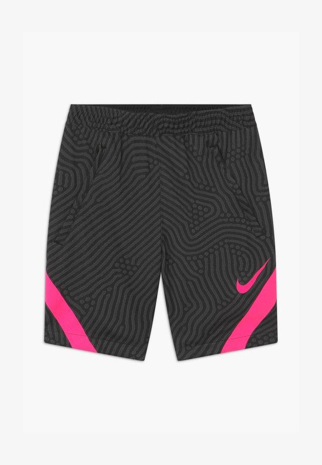 DRY STRIKE - Sports shorts - black/anthracite/hyper pink