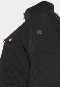 MICHAEL Michael Kors - QUILTED CINCHED WAIST JACKET - Light jacket - black - 3