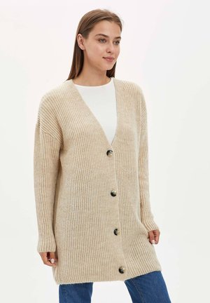 Strickjacke - ecru