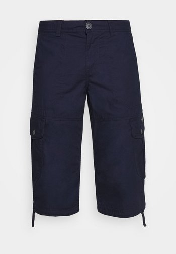 MAX OVERKNEE - Shorts - sailor blue