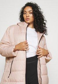 Nike Sportswear - CLASSIC - Winter coat - pink oxford/black/white - 3