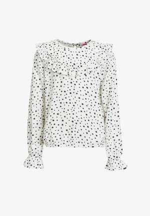 MET STERRENDESSIN - Blouse - white