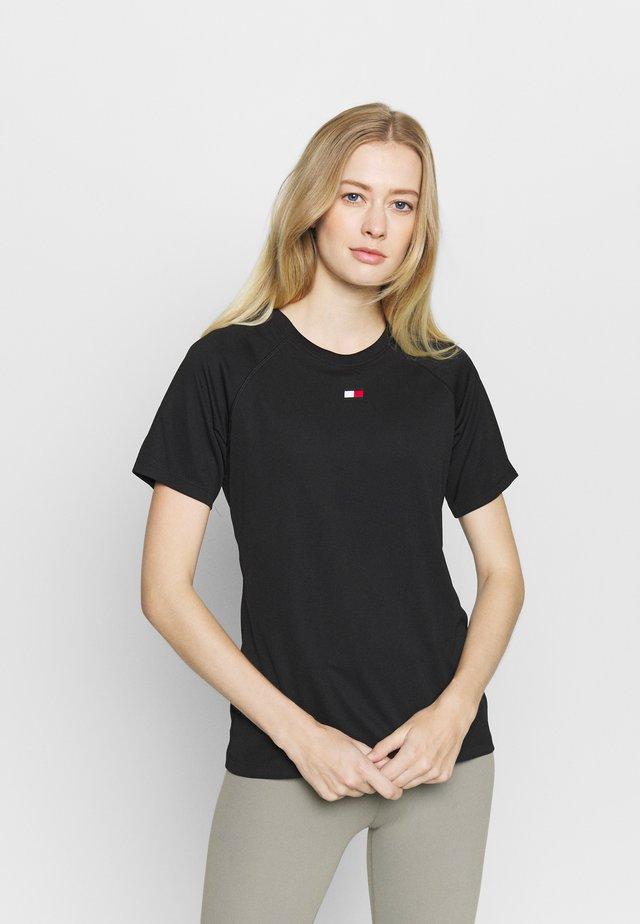 PERFORMANCE LOGO - T-shirt print - black