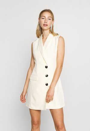 MAISIE BLAZER DRESS - Shift dress - cream