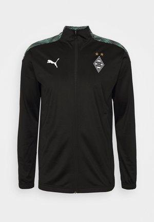 BORUSSIA MÖNCHENGLADBACH STADIUM JACKET - Club wear - puma black/green glimmer