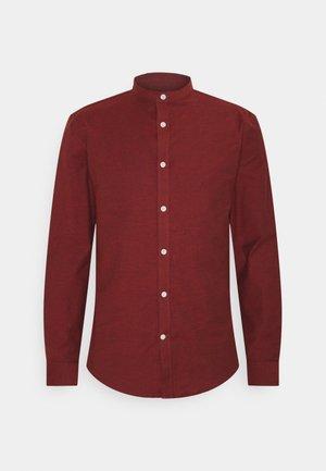 Shirt - dark red mix