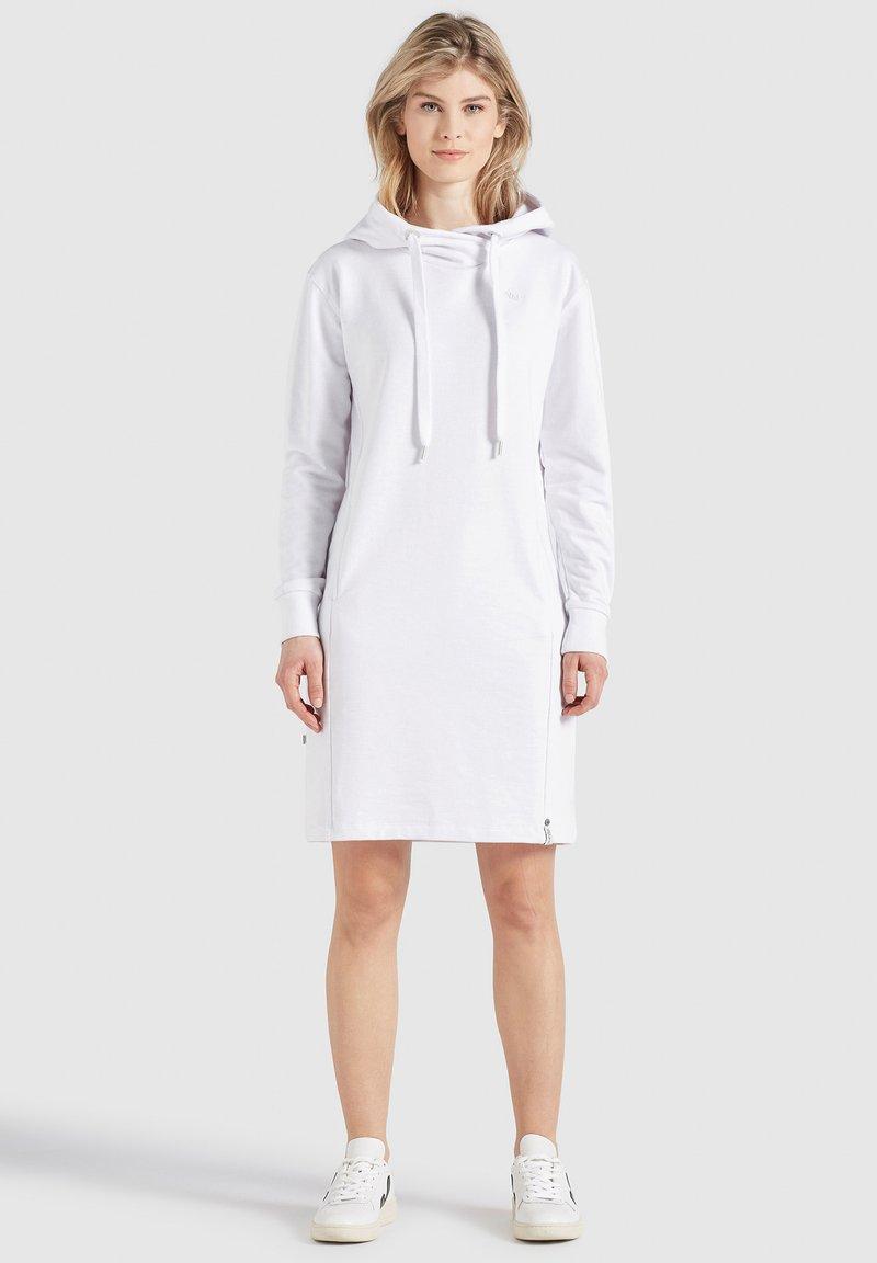 khujo - HALOUMA - Day dress - weiß
