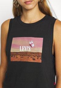 Levi's® - GRAPHIC CROP TANK - Top - black - 5