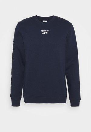 TAPE CREW - Sweatshirt - dark blue