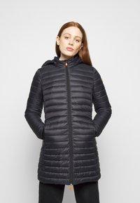 Save the duck - GIGA BRYANNA DETACHABLE HOODED - Winter coat - black - 0