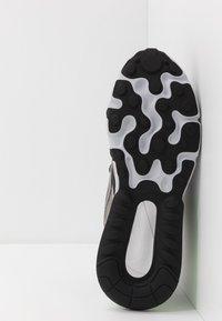 Nike Sportswear - AIR MAX 270 REACT WTR - Sneaker low - sepia stone/black/moon particle/vast grey/electric green/total orange - 4