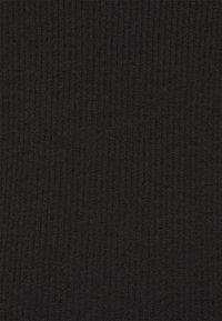 NA-KD - NA-KD X ZALANDO EXCLUSIVE - SOFT RIBBED CARDIGAN - Cardigan - black - 5