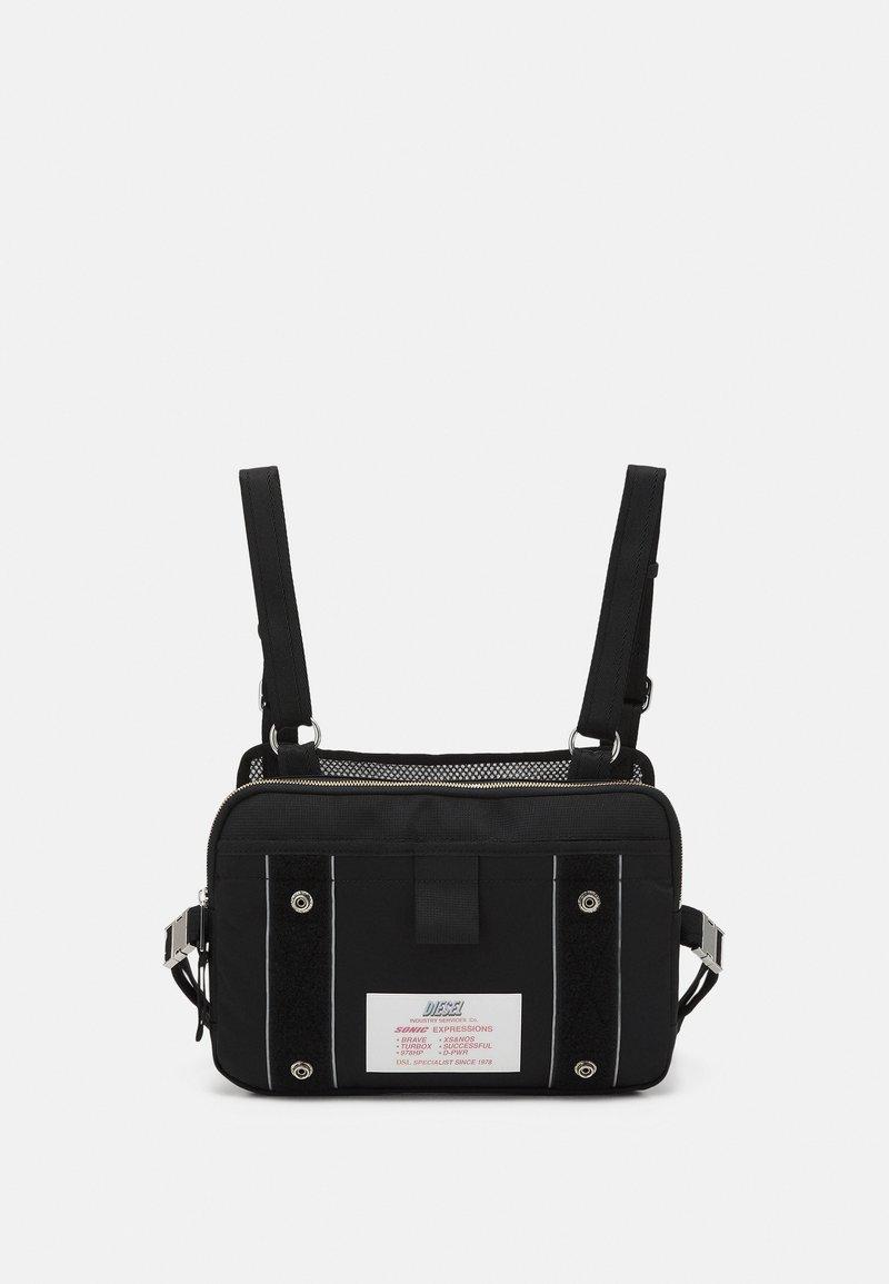 Diesel - DRESSLEK UNISEX - Bum bag - black