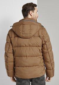 TOM TAILOR - MIT KAPUZE - Winter jacket - toasted coconut - 2
