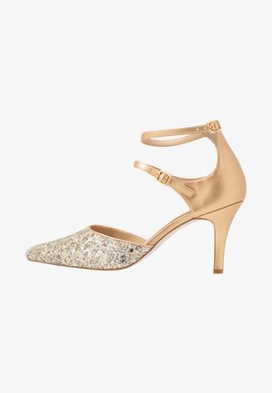 LEATHER - Klassiske pumps - gold