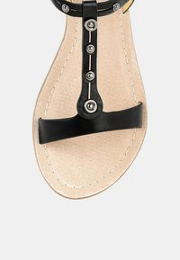 PRIMA MODA - BANNE - Wedge sandals - black - 4